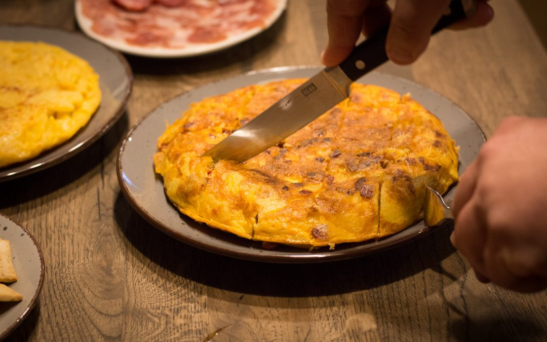 Spanische Tortilla de patatas