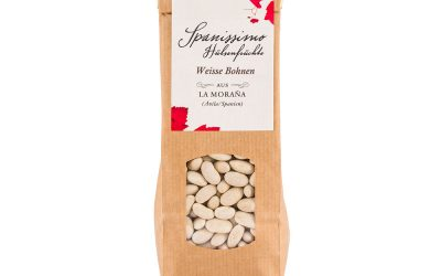 Weiße Bohnen aus La Moraña, Ávila, Spanien