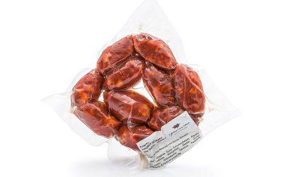 Chorizo picante (scharfe Chorizo) frisch, aus Segovia, Spanien